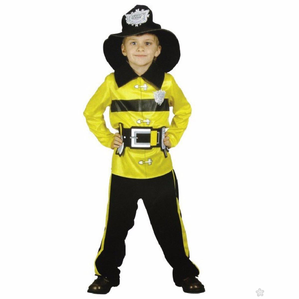Kostim Vatrogasac, žuti ili CRVENI