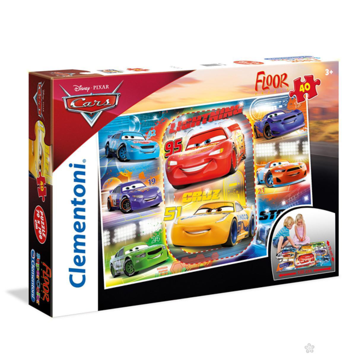 Velike podne puzzle Cars Clementoni, 25455