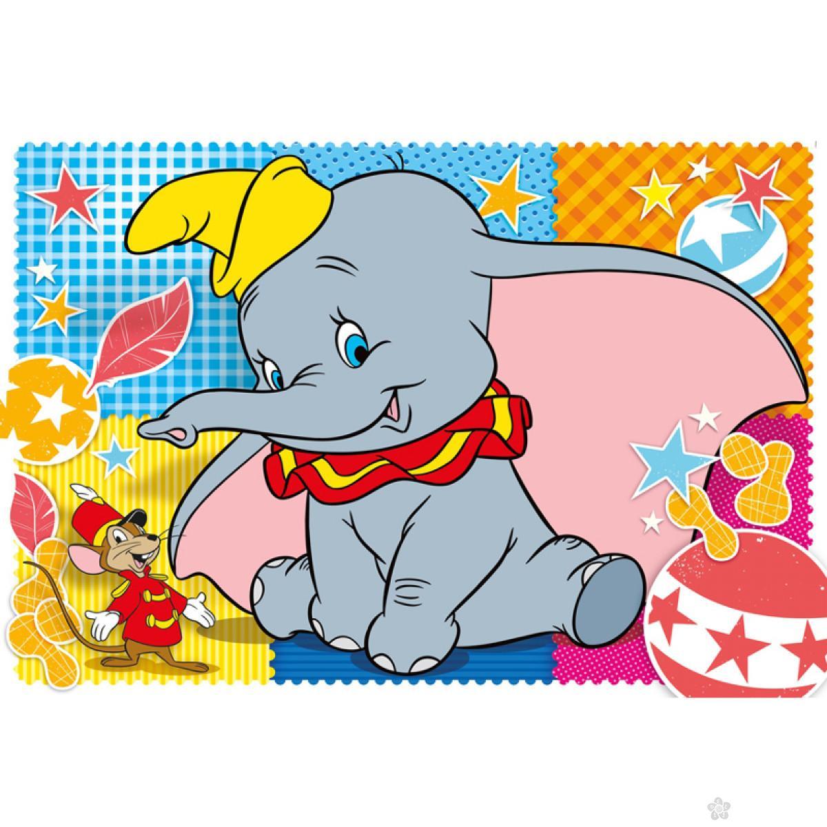 Velike podne puzzle Dumbo Clementoni, 25461