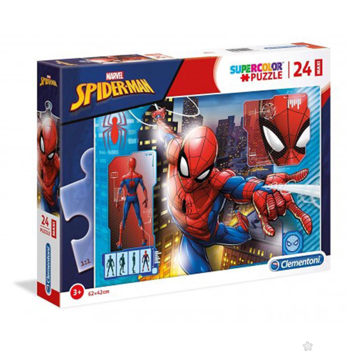 Puzzle 24  Maxi Spiderman Clementoni, 28507