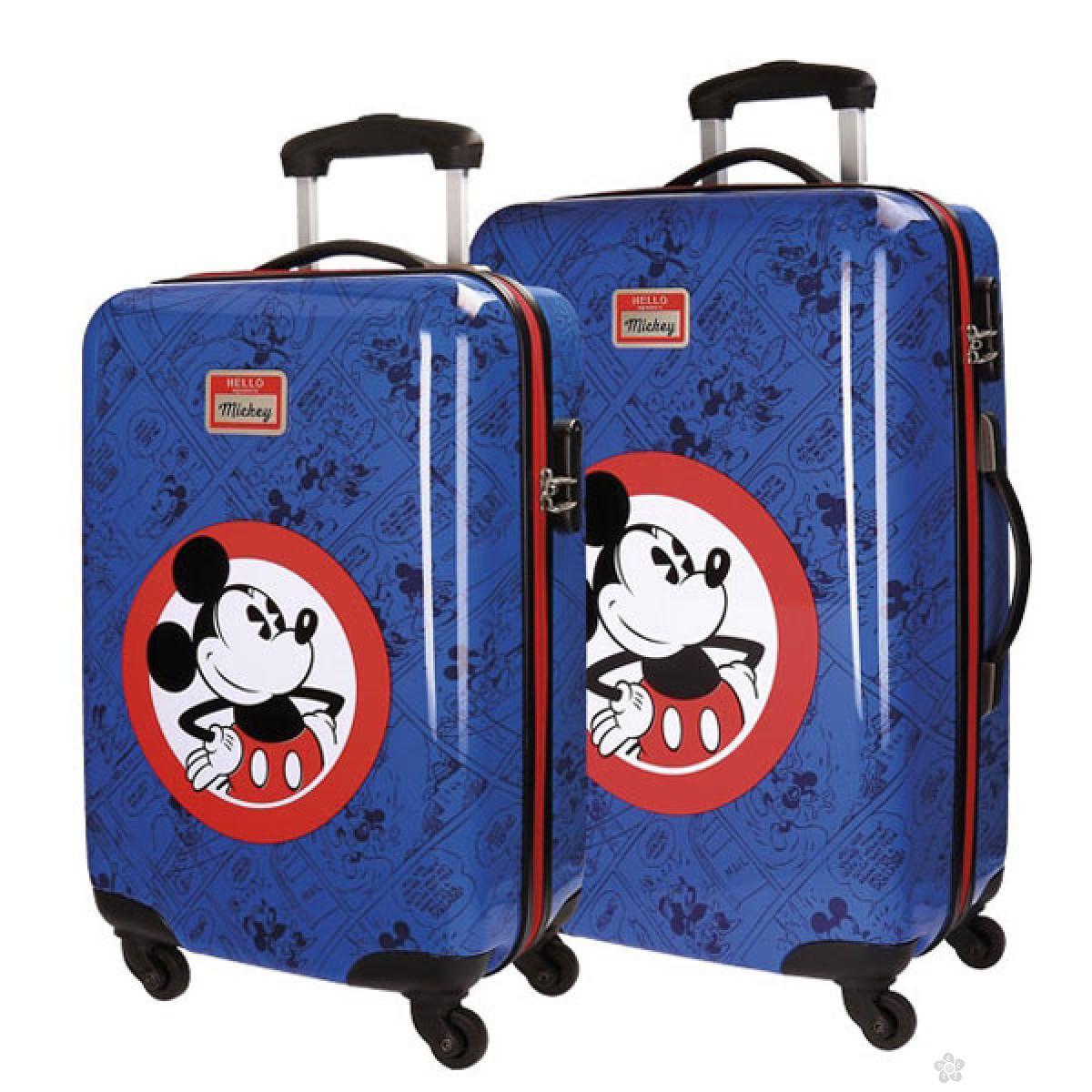 Mickey Mouse set kofera 2/1 55/68cm
