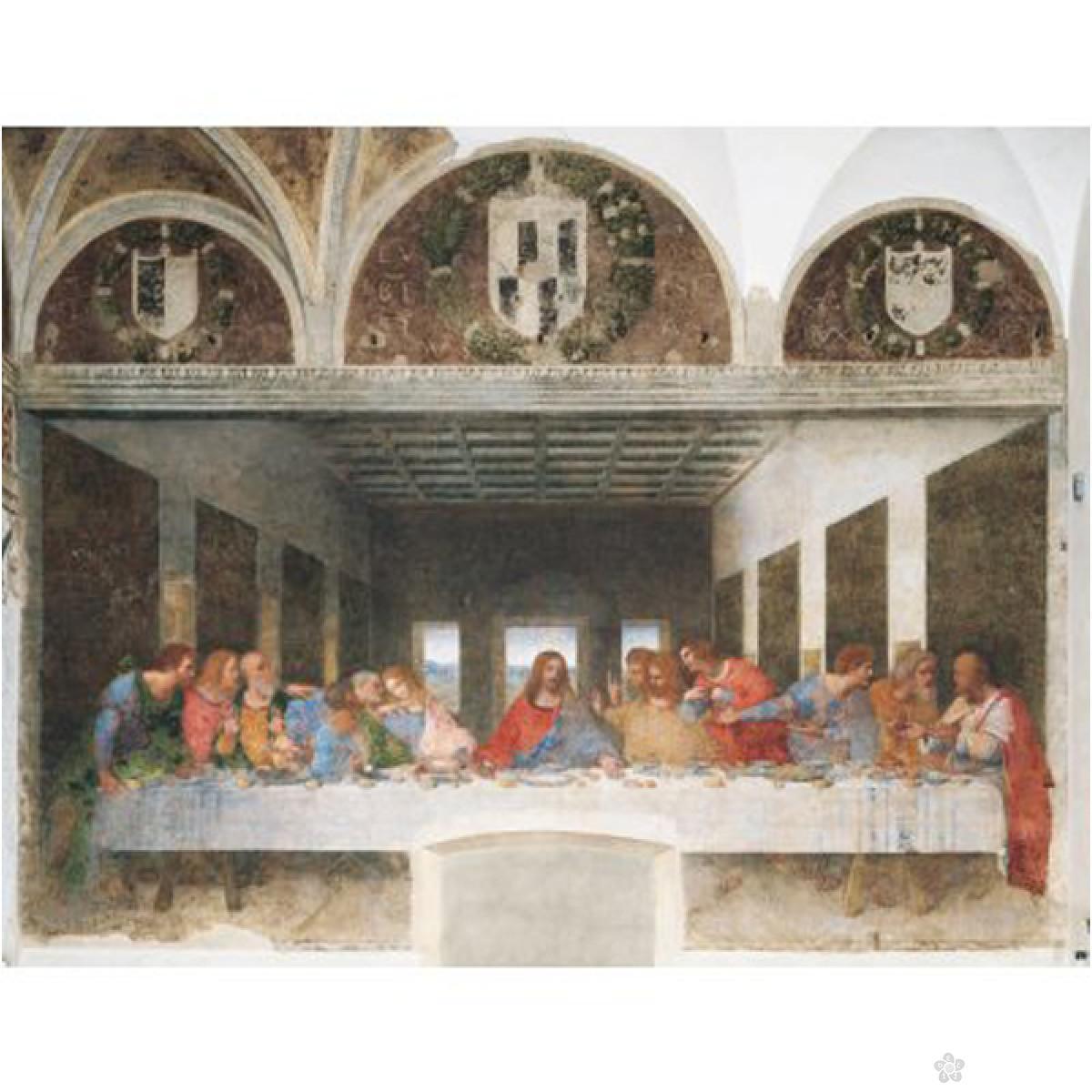 Clementoni puzzla Poslednja večera -The Last Supper, Leonardo 1000 pcs 31447