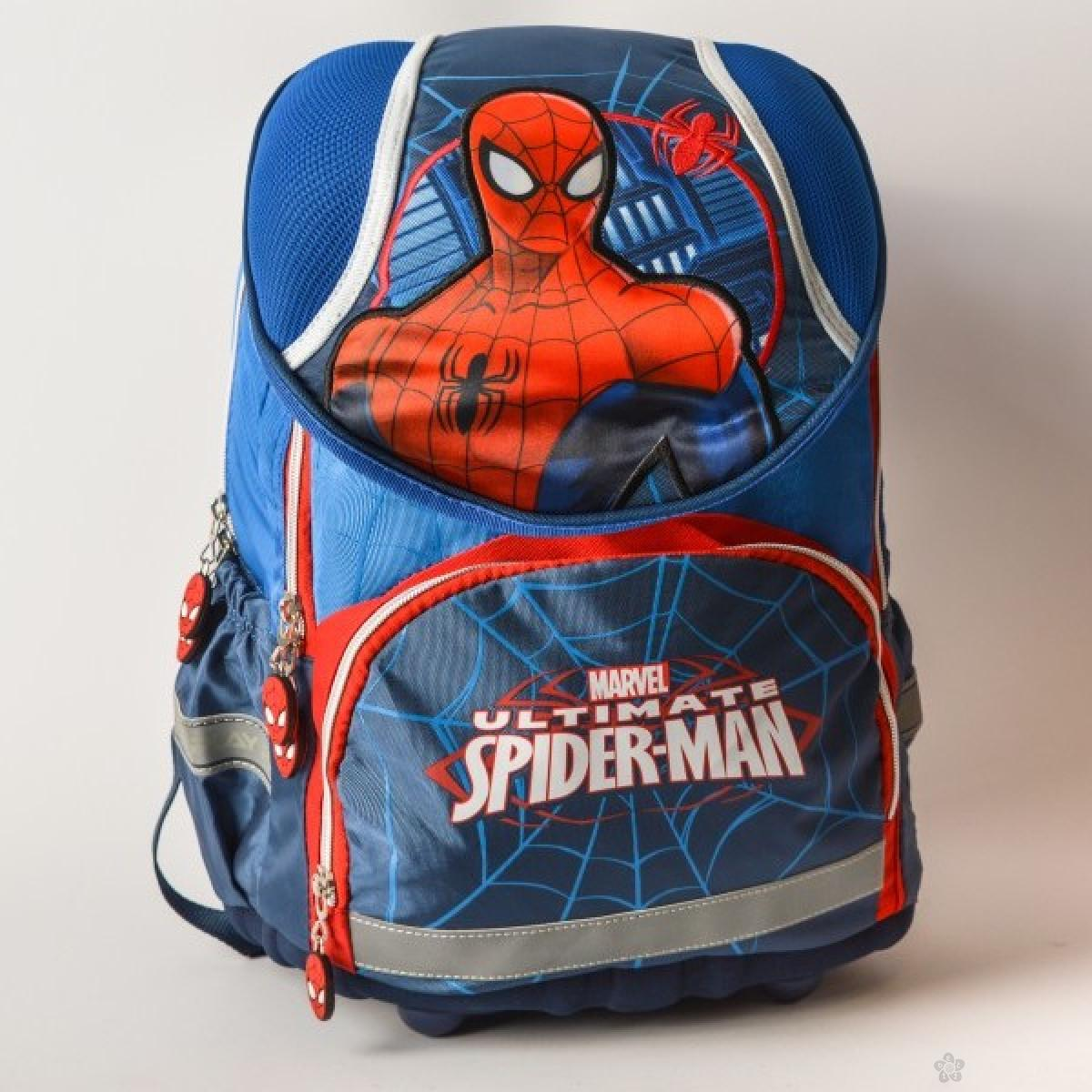 Anatomski ranac Spiderman, plavi