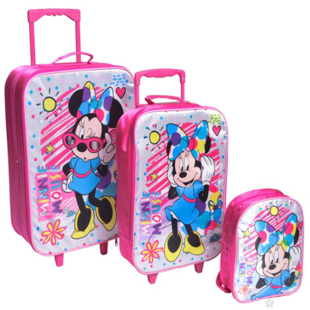 Set kofera i ranac Minnie Mouse Colorful 318343
