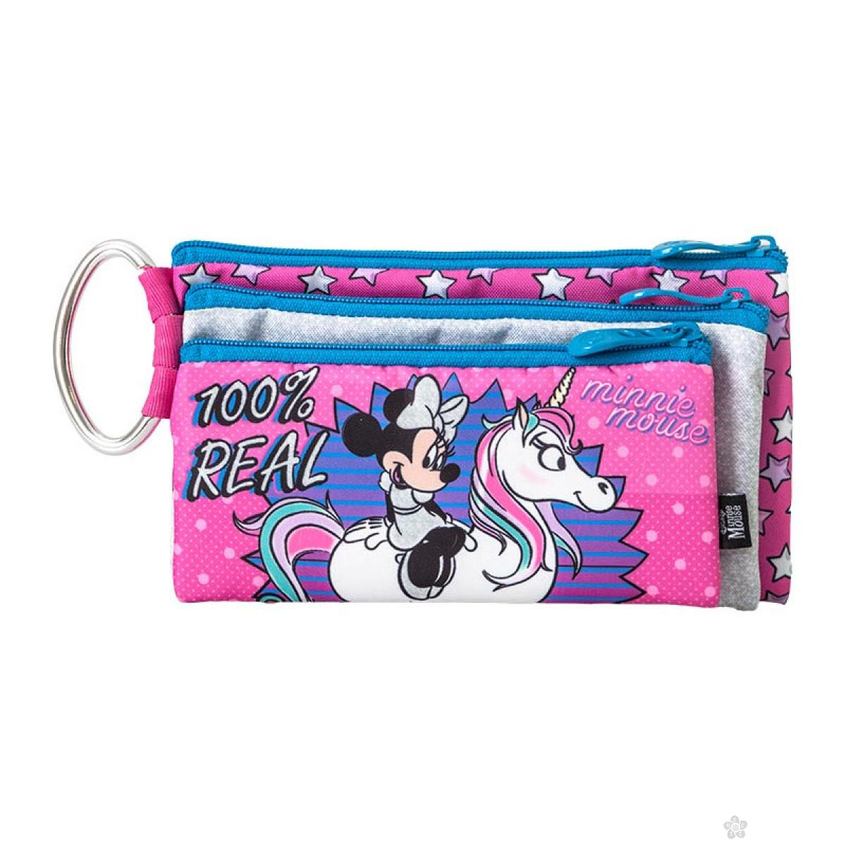 Pernica prazna trodelna Minnie Mouse Unicorn, 318654