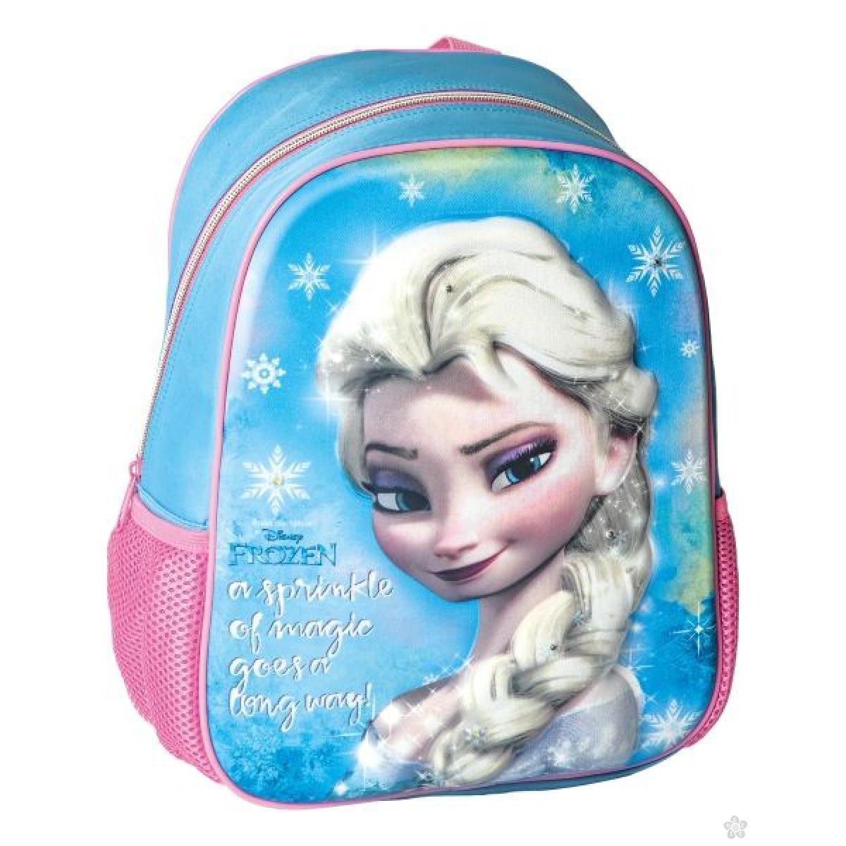 3D ranac za vrtić sa led svetlima Frozen Elsa 322421