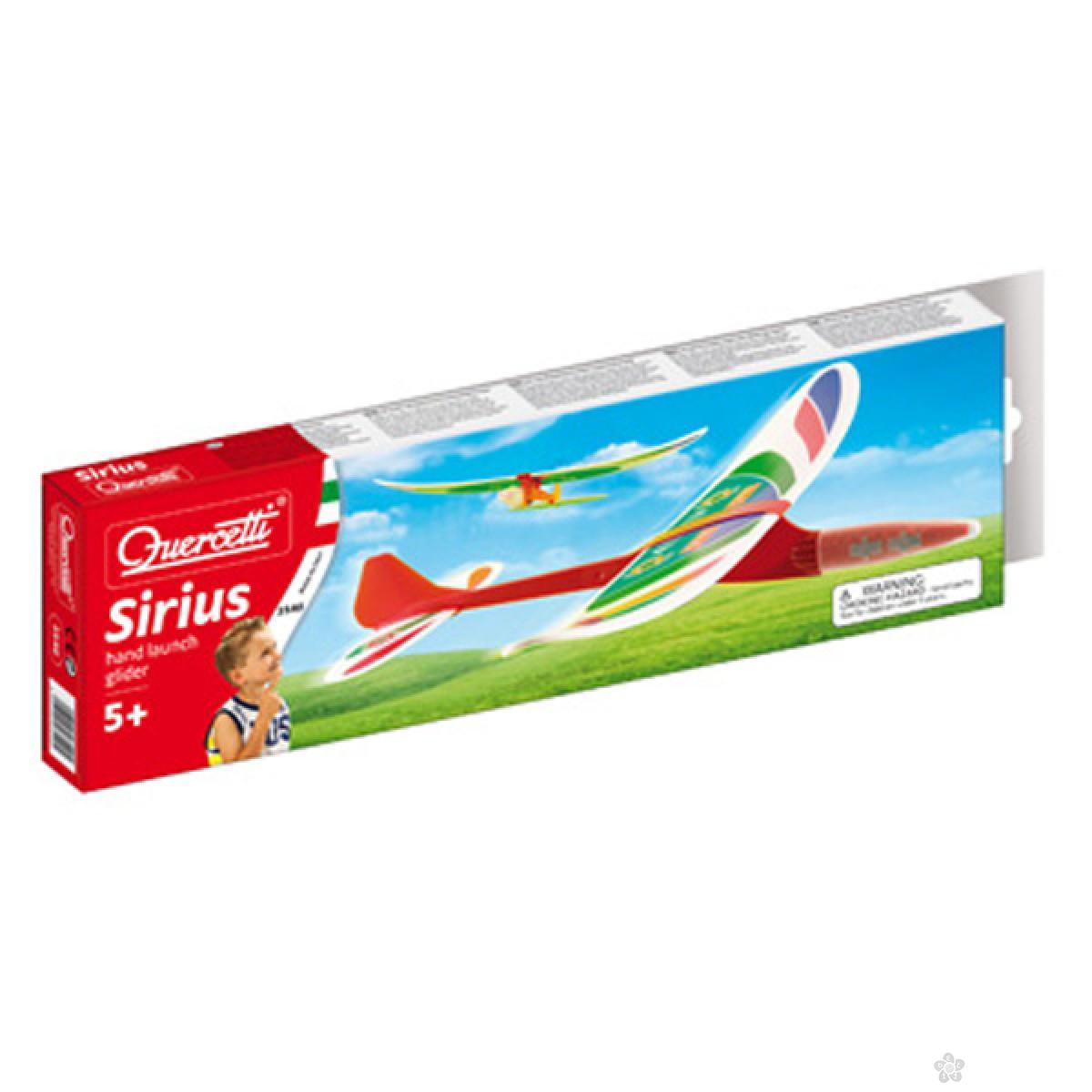 Avion jedrilica Quercetti 35405