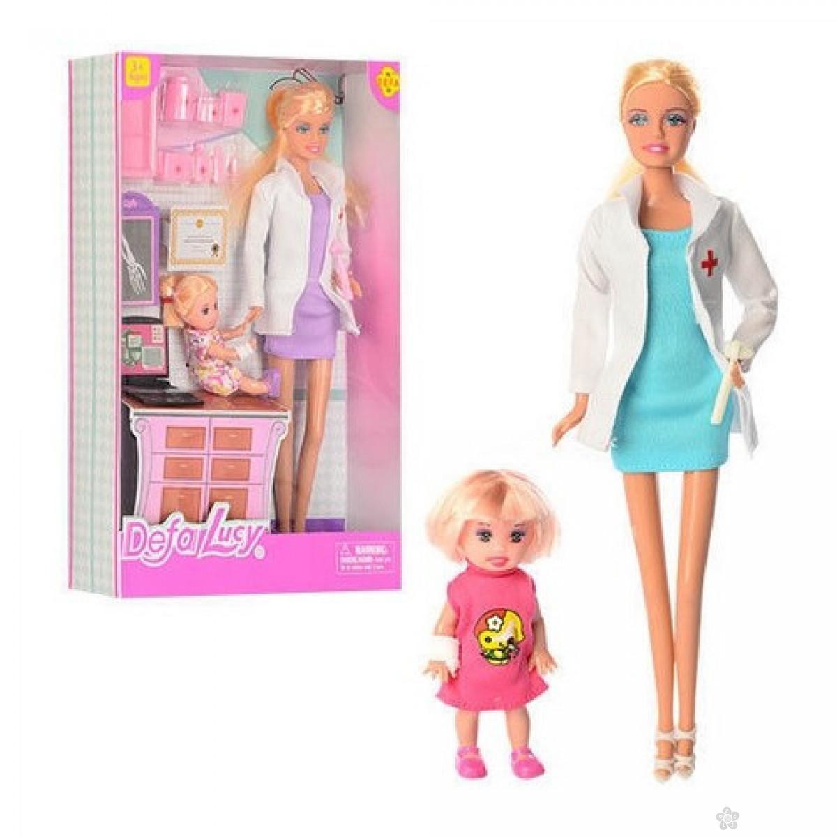 Lutka Defa doktorka sa devojčicom i dodacima, 36137
