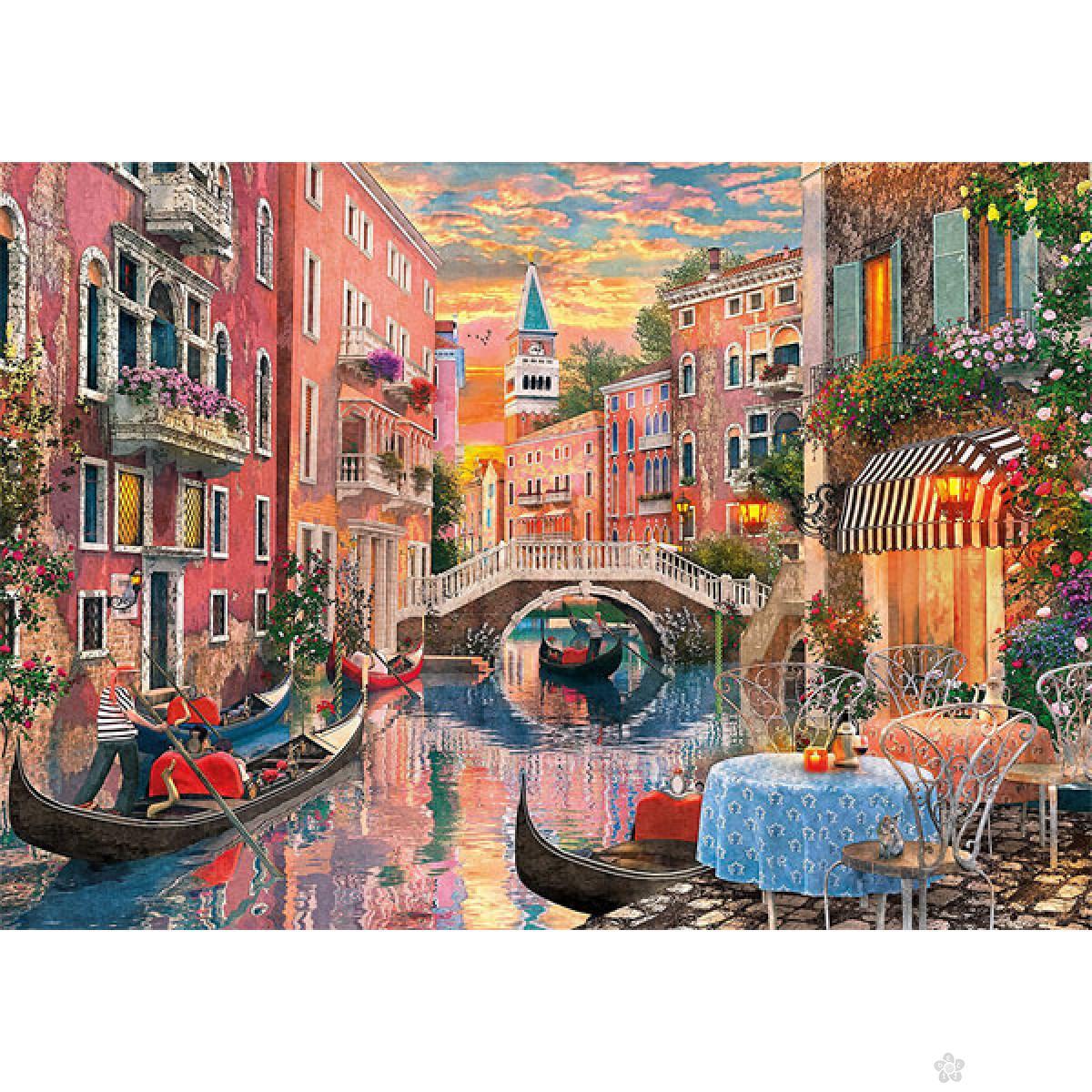 Clementoni puzzla Venice Evening Sunset 6000pcs 36524