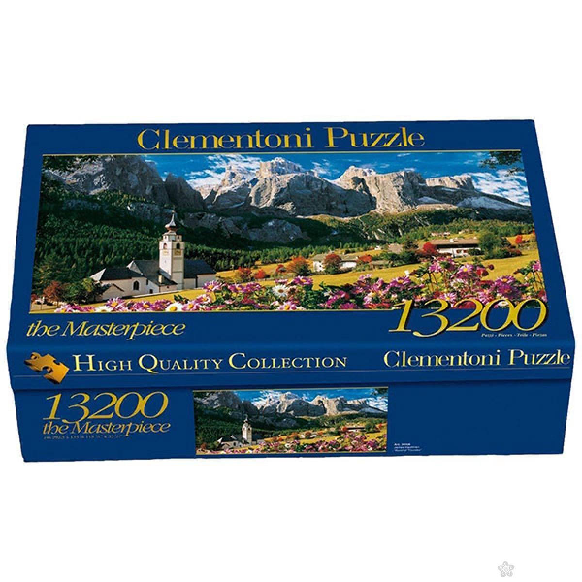 Puzzla Clementoni 13200 pcs Dolomites 38007