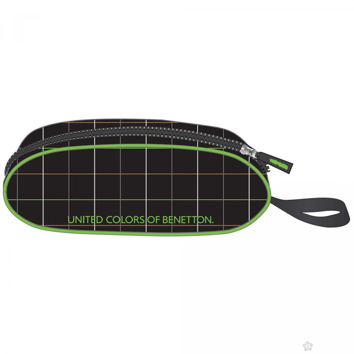 Ovalna pernica Benetton 17329