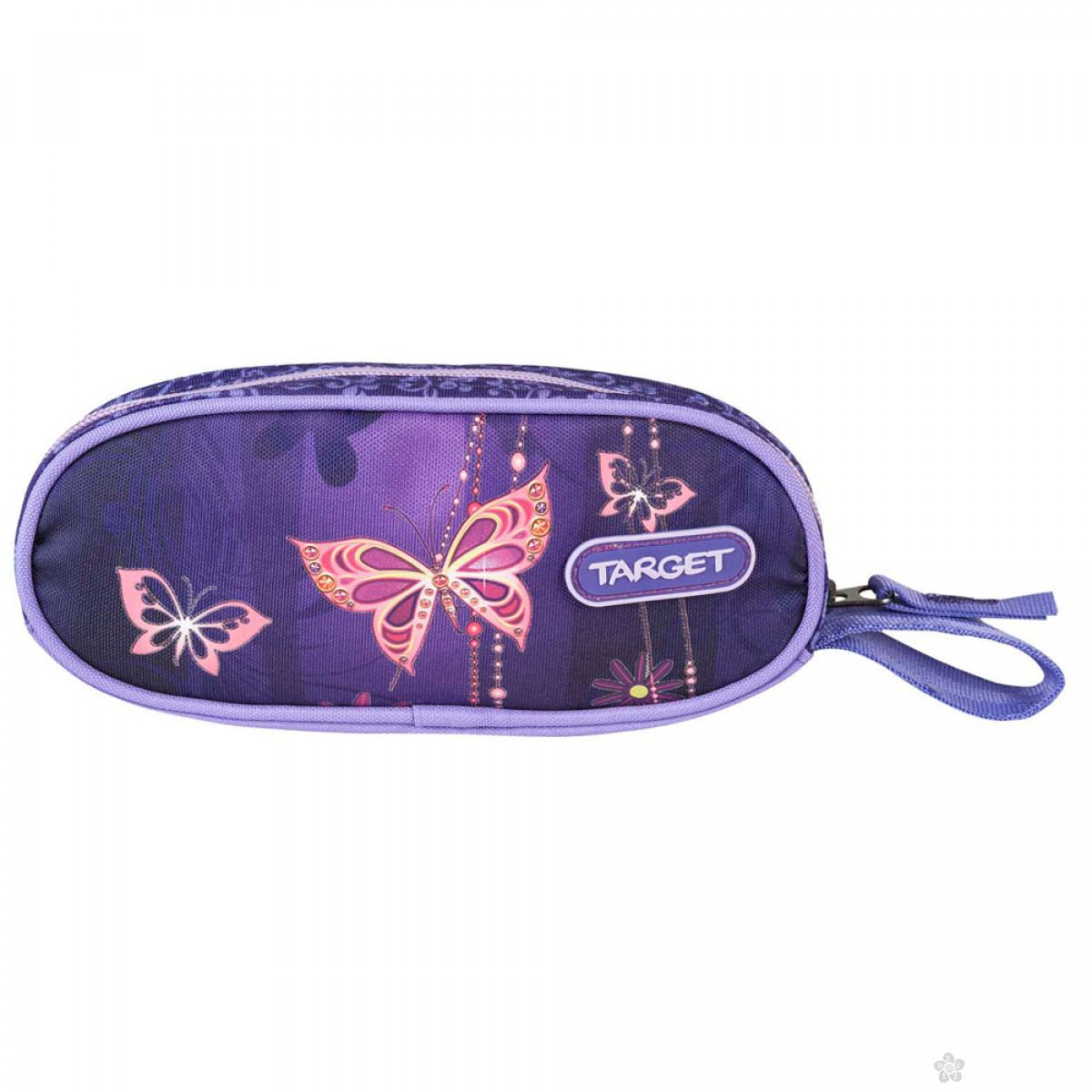 Okrugla pernica Reflex Gold butterfly 17984