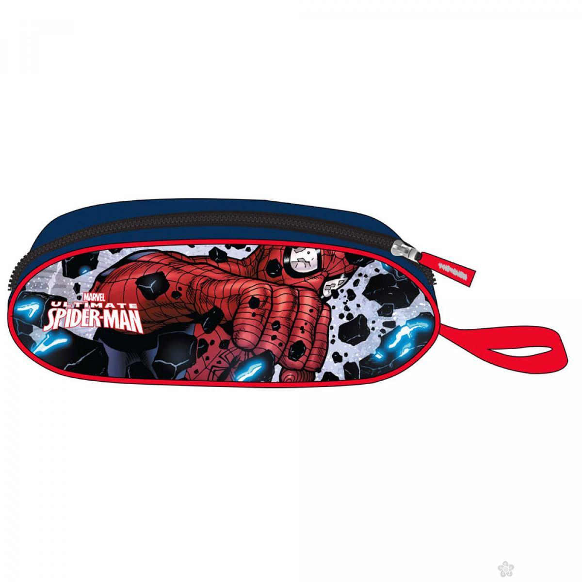 Ovalna pernica Spiderman 21513
