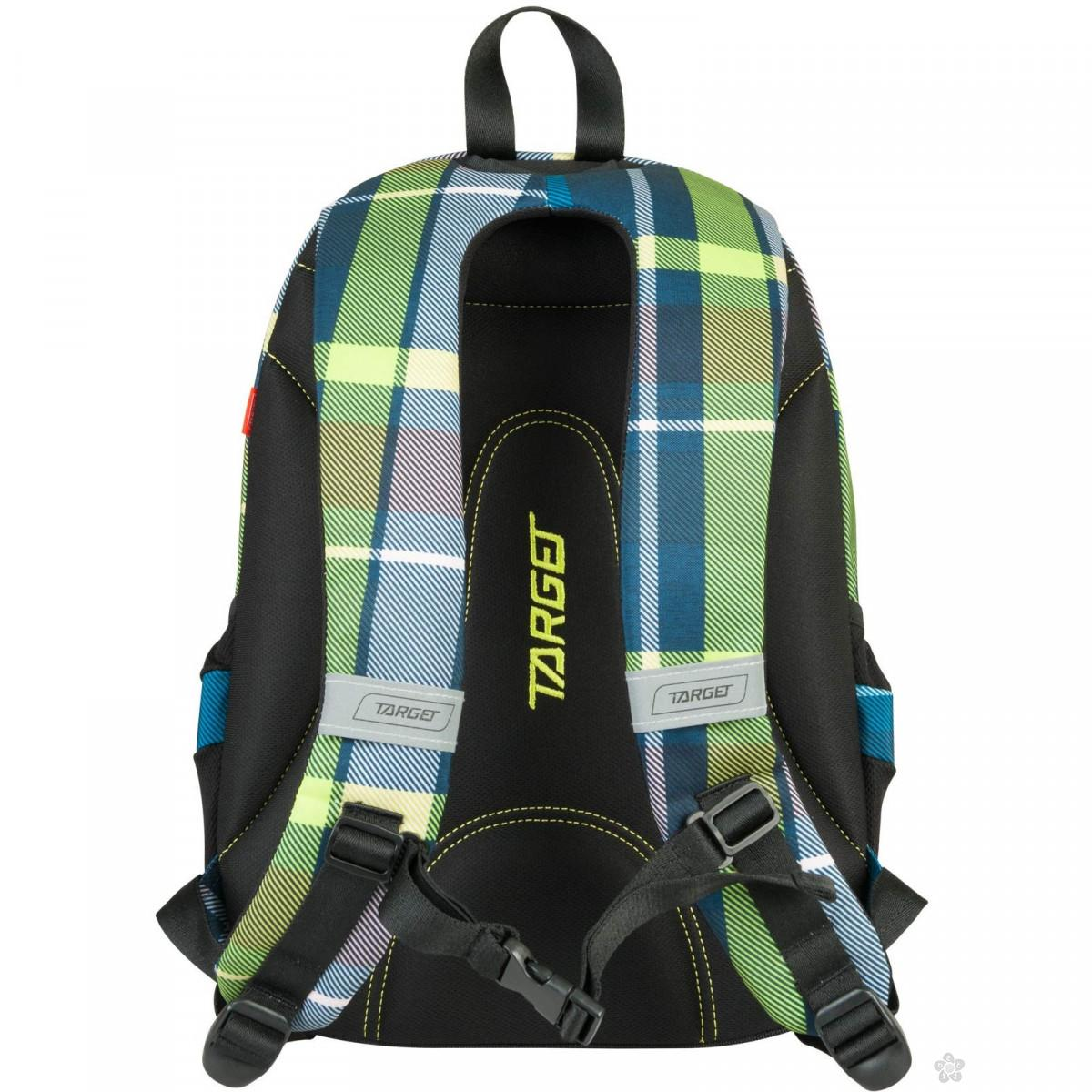 Target ranac 3 zip Duel Green 21880
