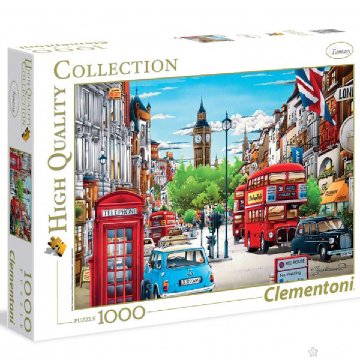 Puzzla London 1000 delova Clementoni, 39339