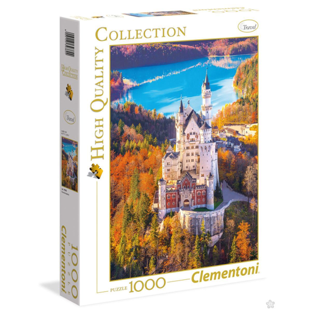 Puzzla Castle Neuschwanstein 1000 delova Clementoni, 39382