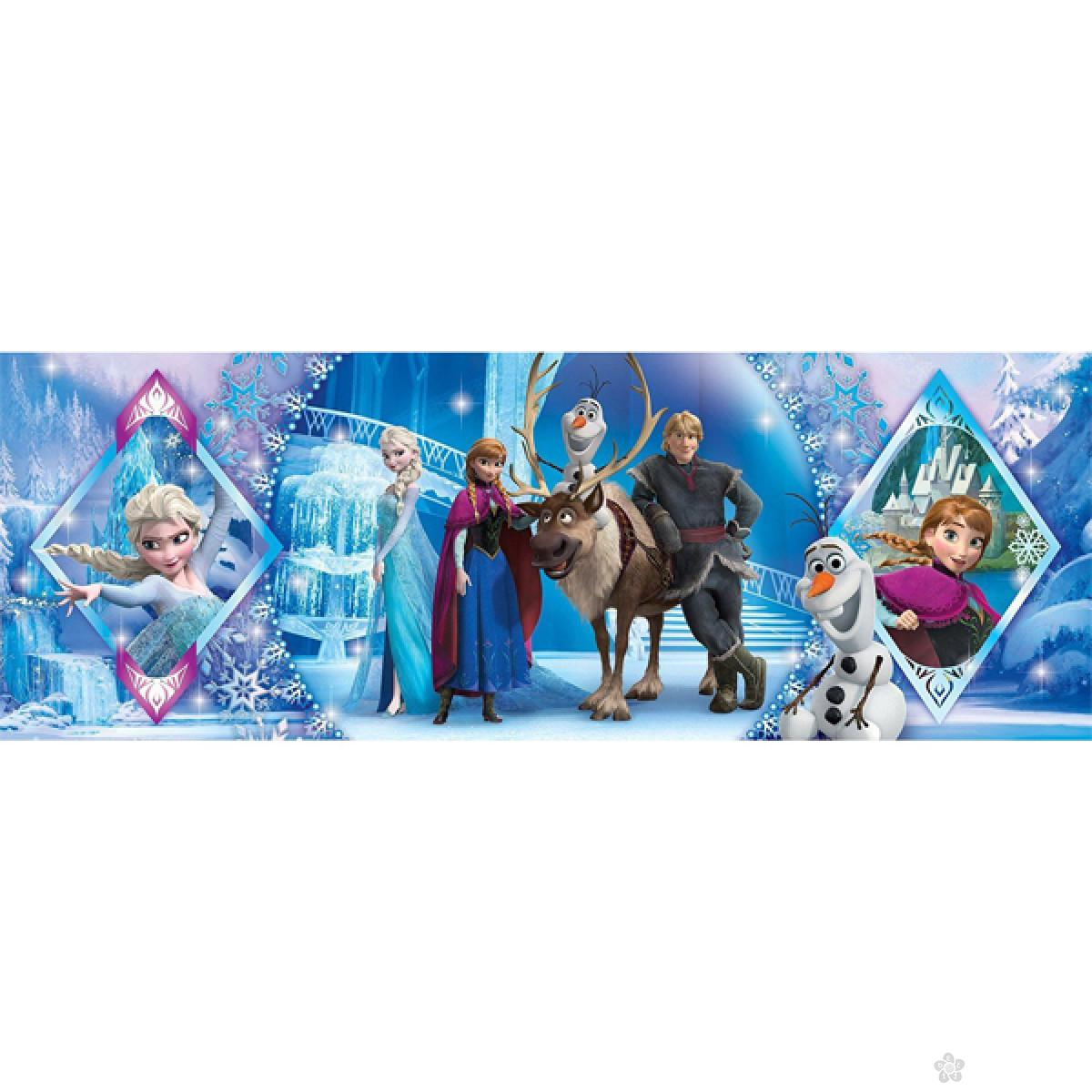 Clementoni puzzla Panorama Frozen 1000pcs, 39447