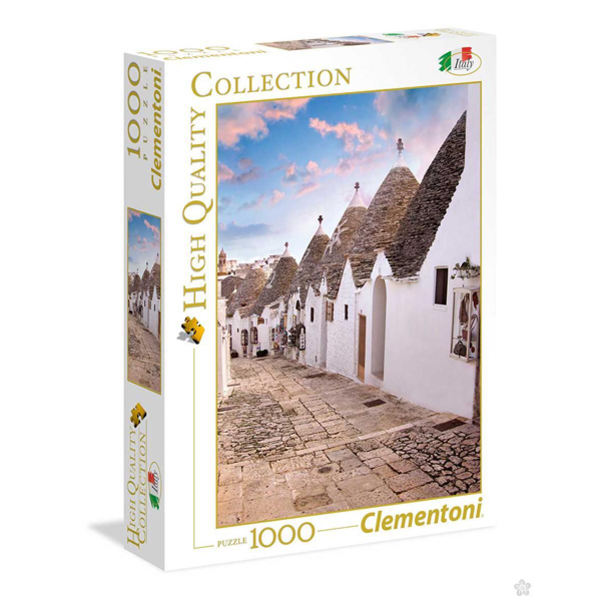 Clementoni puzzla Italian Collestion Alberobell 1000pcs 39450