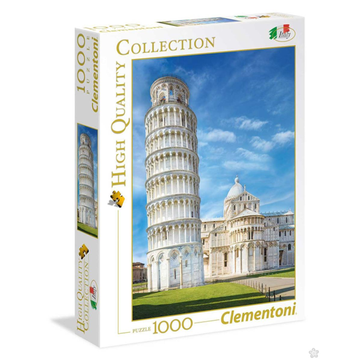 Puzzla Italian Collecetion Pisa 1000 delova Clementoni, 39455