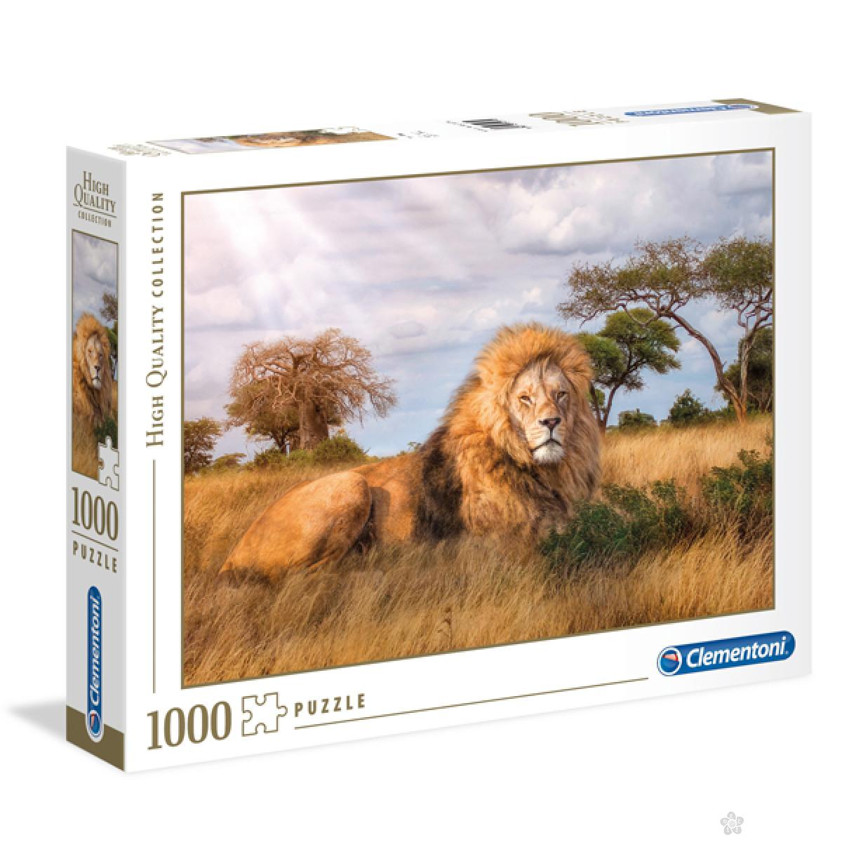 Clementoni puzzla The king, 1000pcs 39479