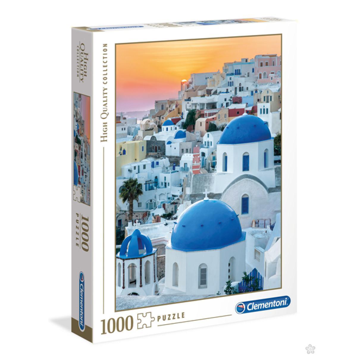 Clementoni puzzla Santorini, 1000pcs 39480
