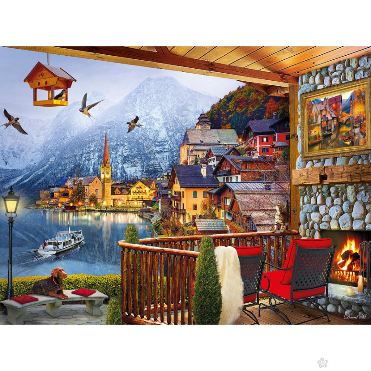 Clementoni puzzla Hallstatt, 1000pcs 39481