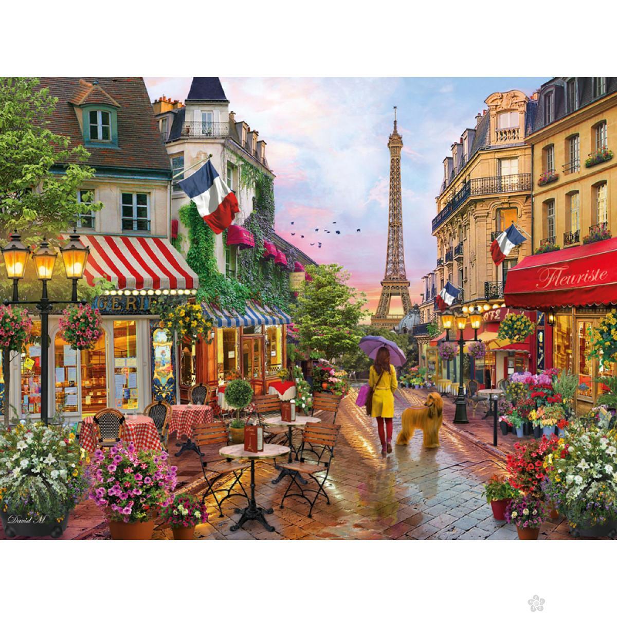 Clementoni puzzla Flower in Paris, 1000pcs 39482