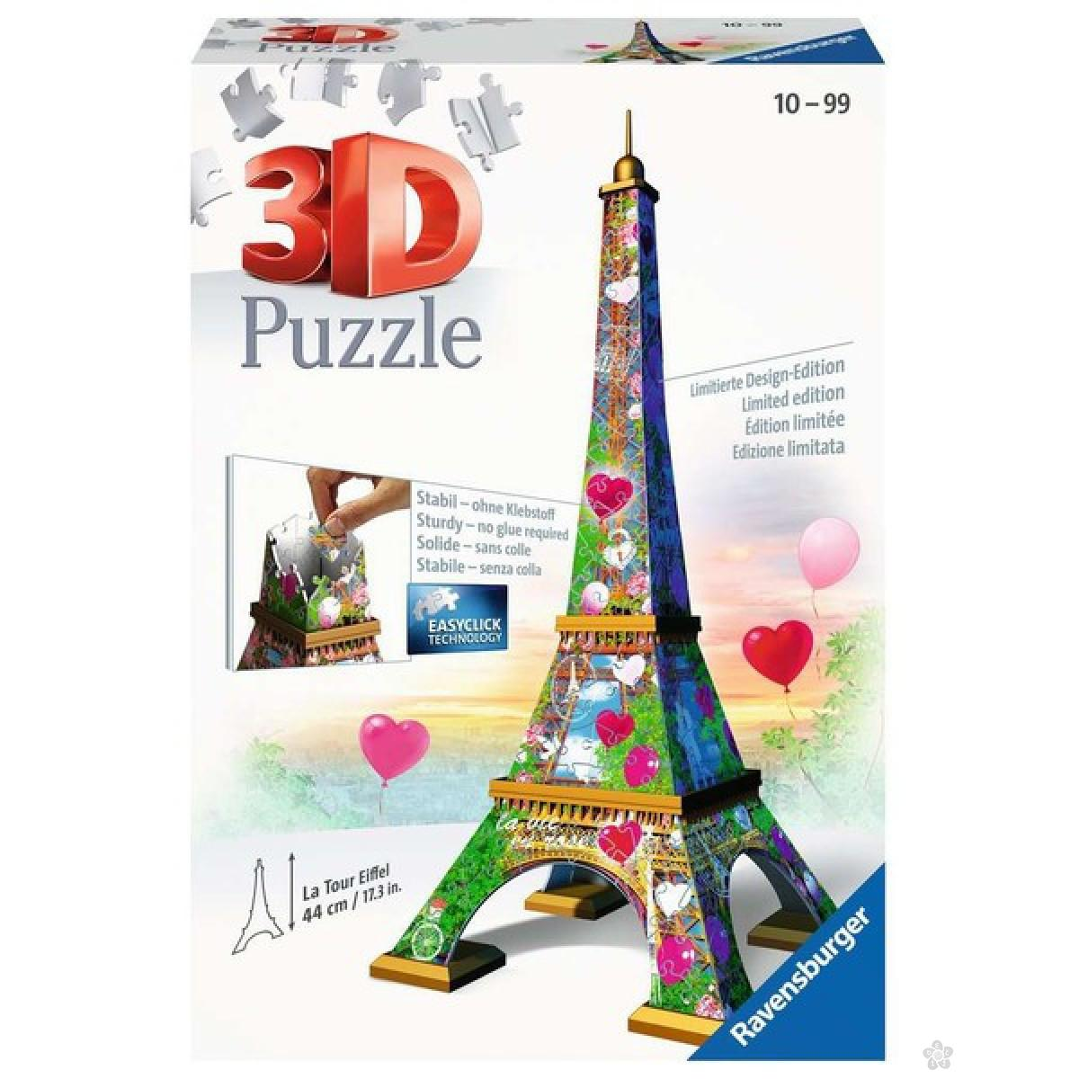 3D puzzle Ajfelov toranj RA11183