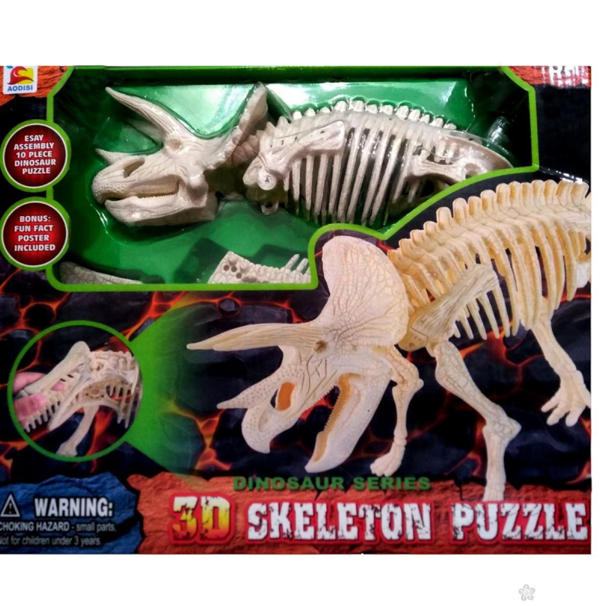 3D puzzle - Skeleton Dinosaurus
