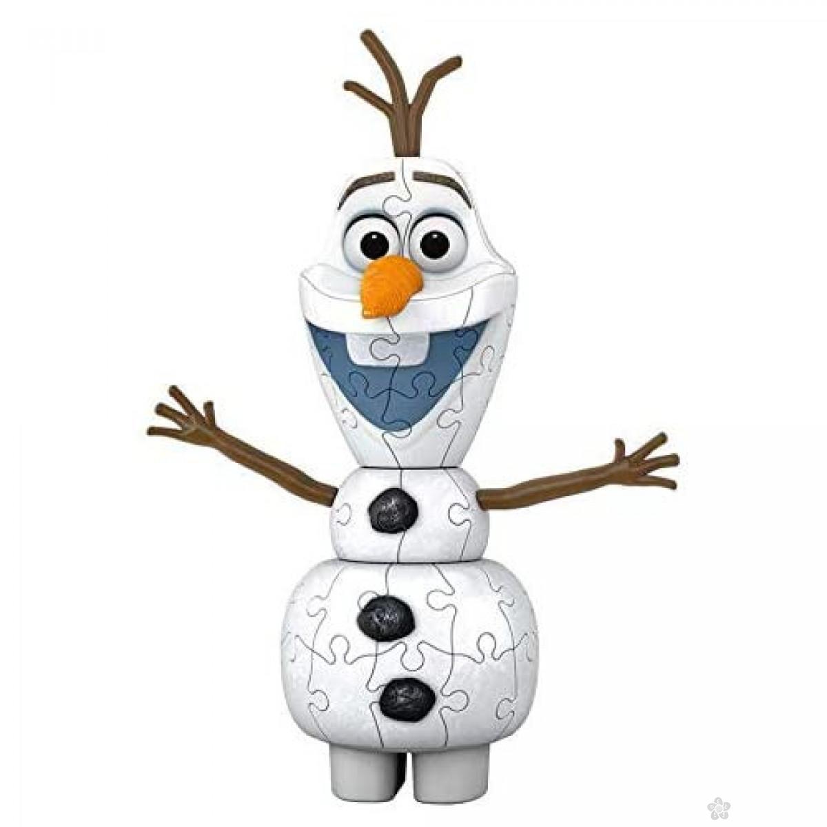 3D puzzle Frozen Olaf RA11157