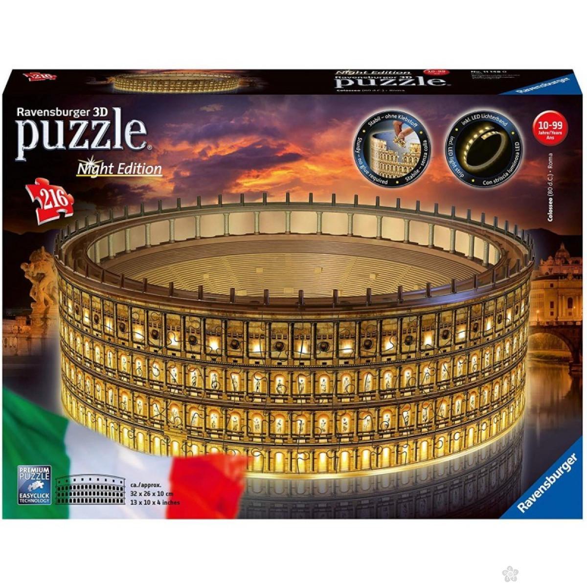 3D puzzle Koloseum noćno izdanje RA11148