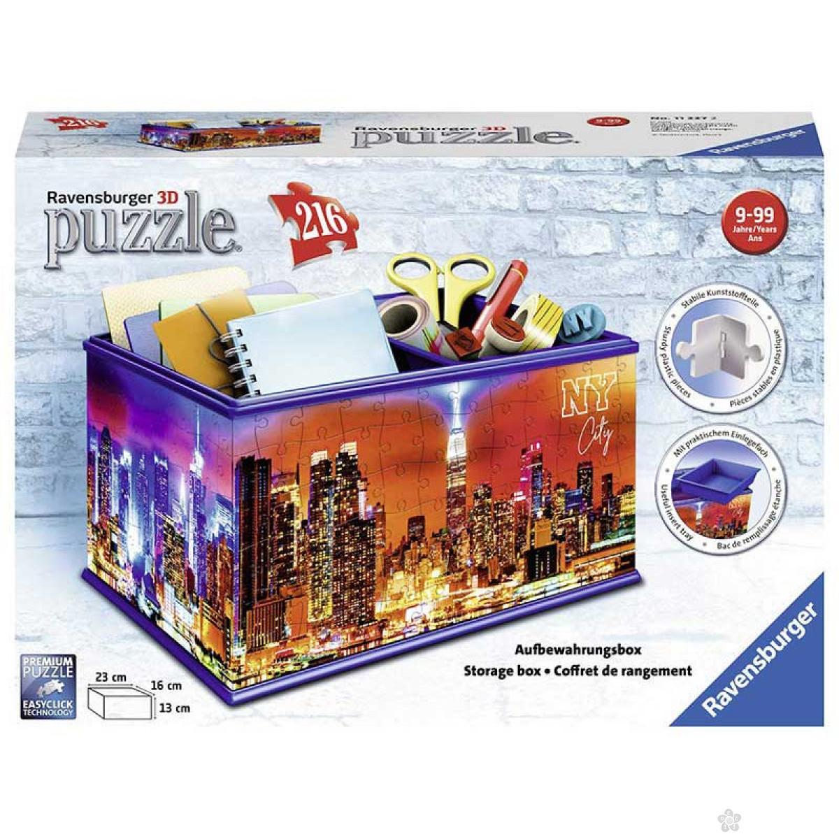 3D puzzle kutija za šminku New York RA11227