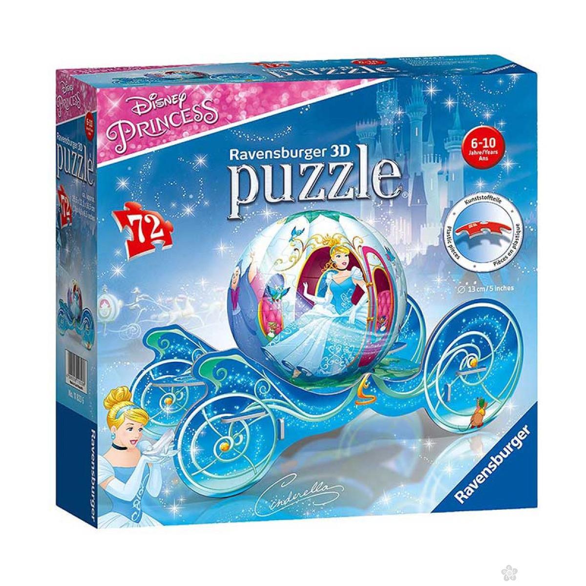 3D puzzle Pepeljuga RA11823