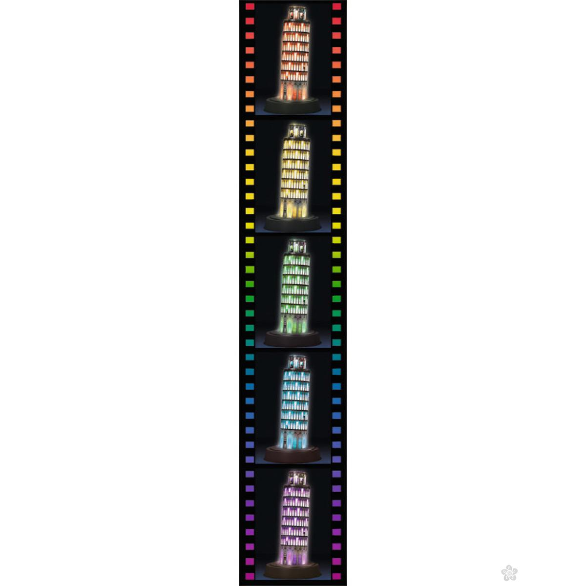 3D puzzle Toranj u Pizzi RA12515