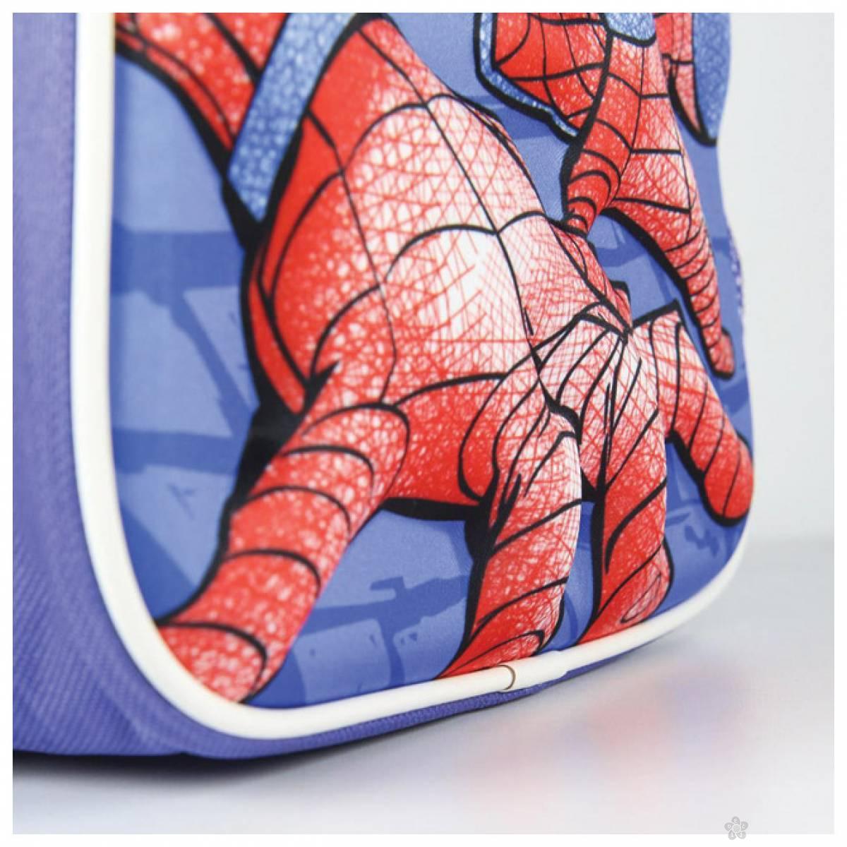 3D ranac za vrtić + flašica Spiderman 2100003054