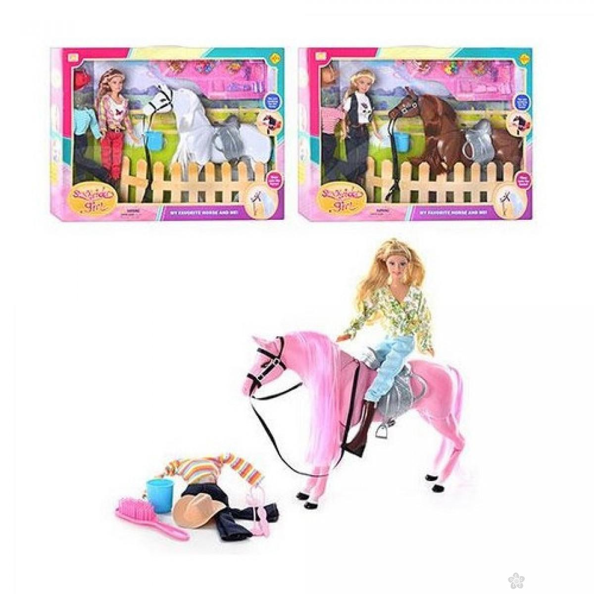 Defa Lutka sa konjem i raznim dodacima, 40703