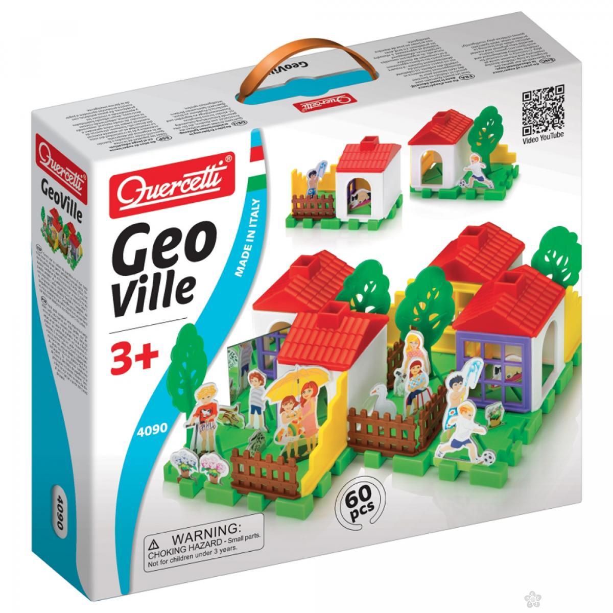 Slagalica 3D kuća Quercetti 4090