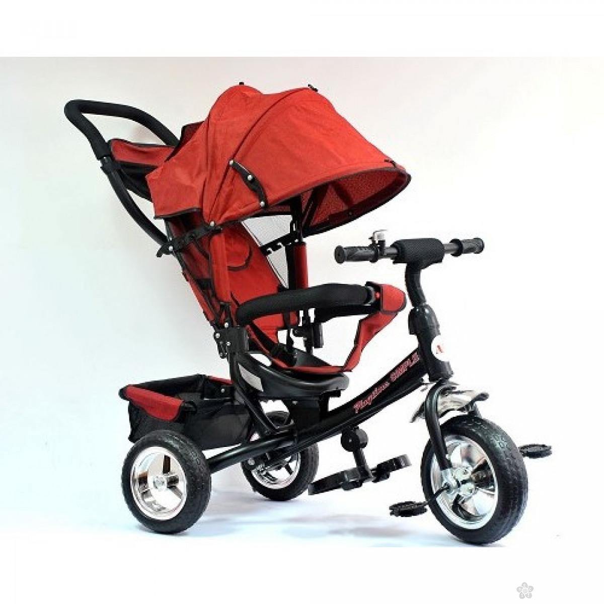 Tricikl Playtime,  model 411 Simple  CRVENI
