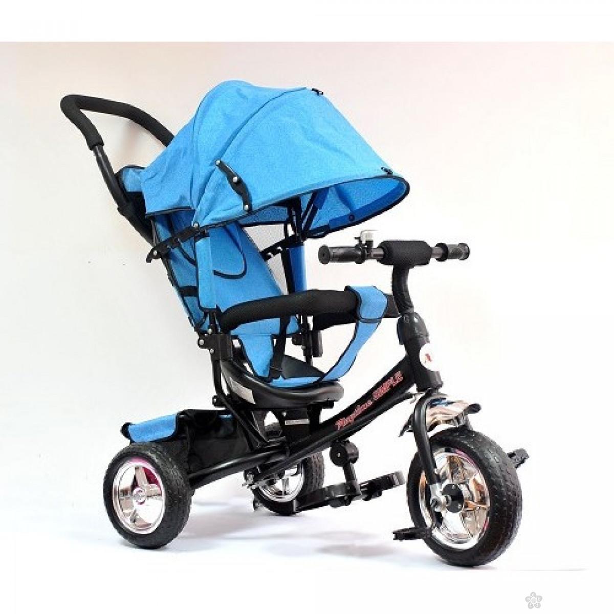Tricikl Playtime,  model 411 Simple  PLAVI