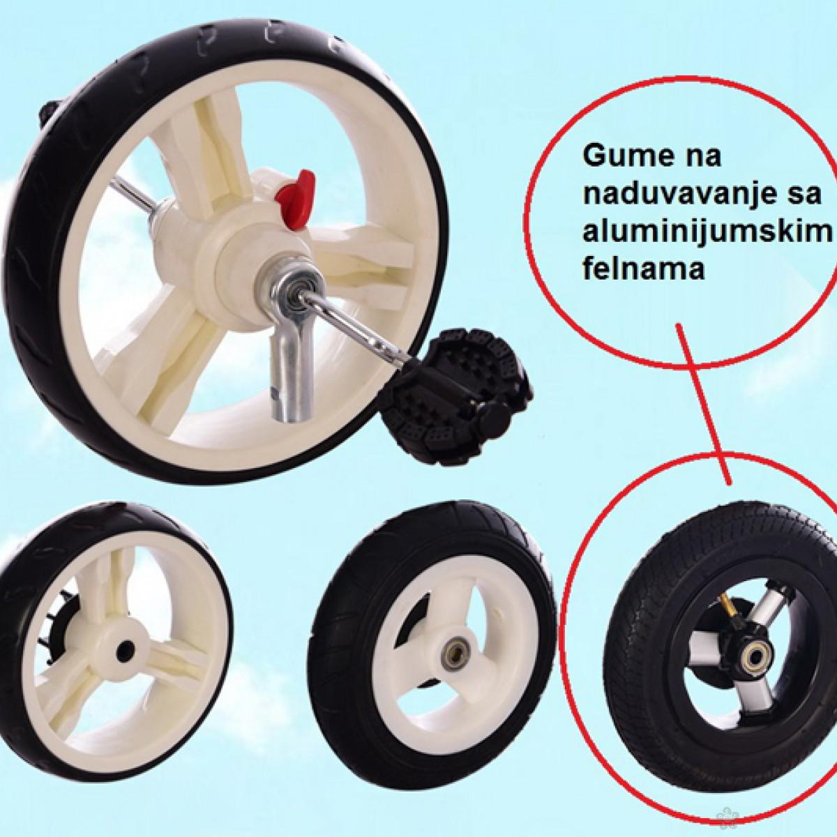 Tricikl Playtime,  model 413 RELAX  ljubičasti