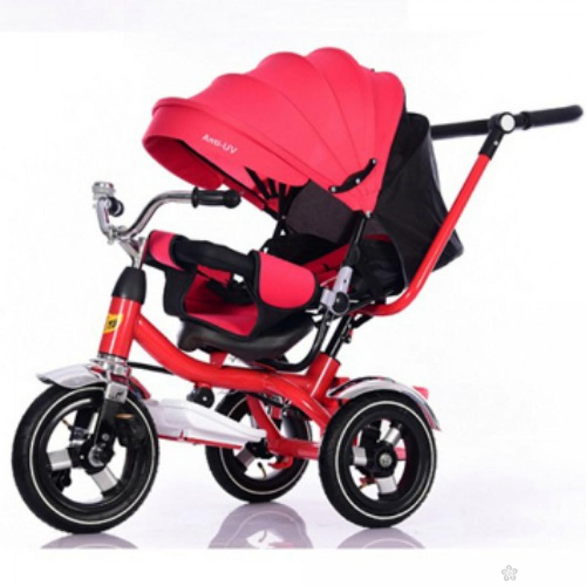 Tricikl Playtime,  model 414 XL CRVENI