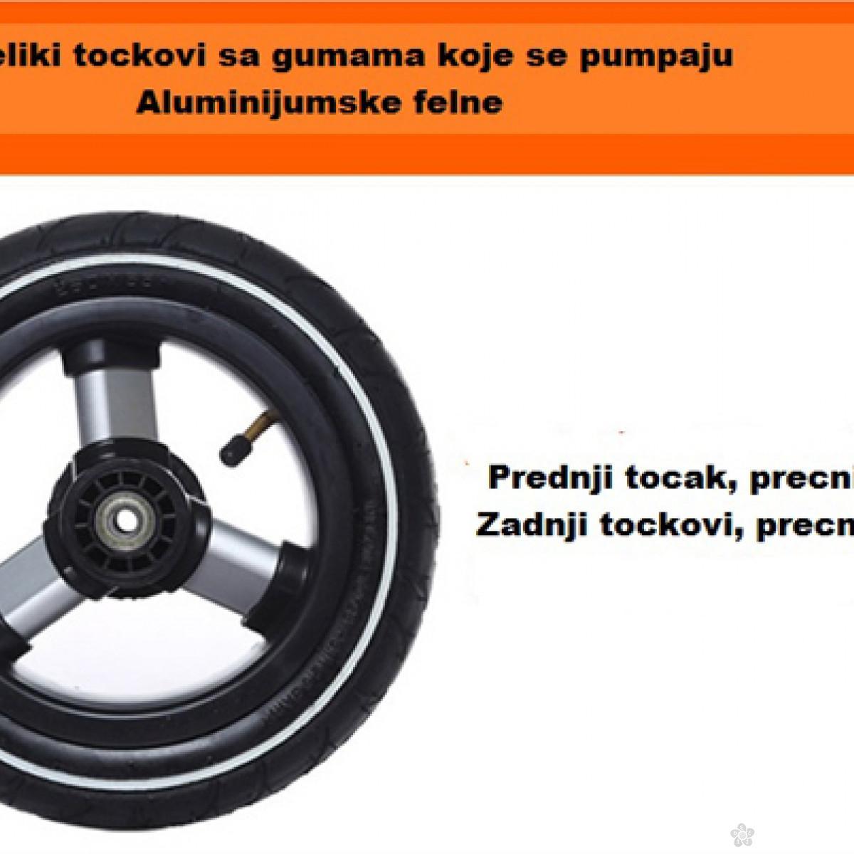 Tricikl Playtime,  model 414 XL LJUBIČASTI