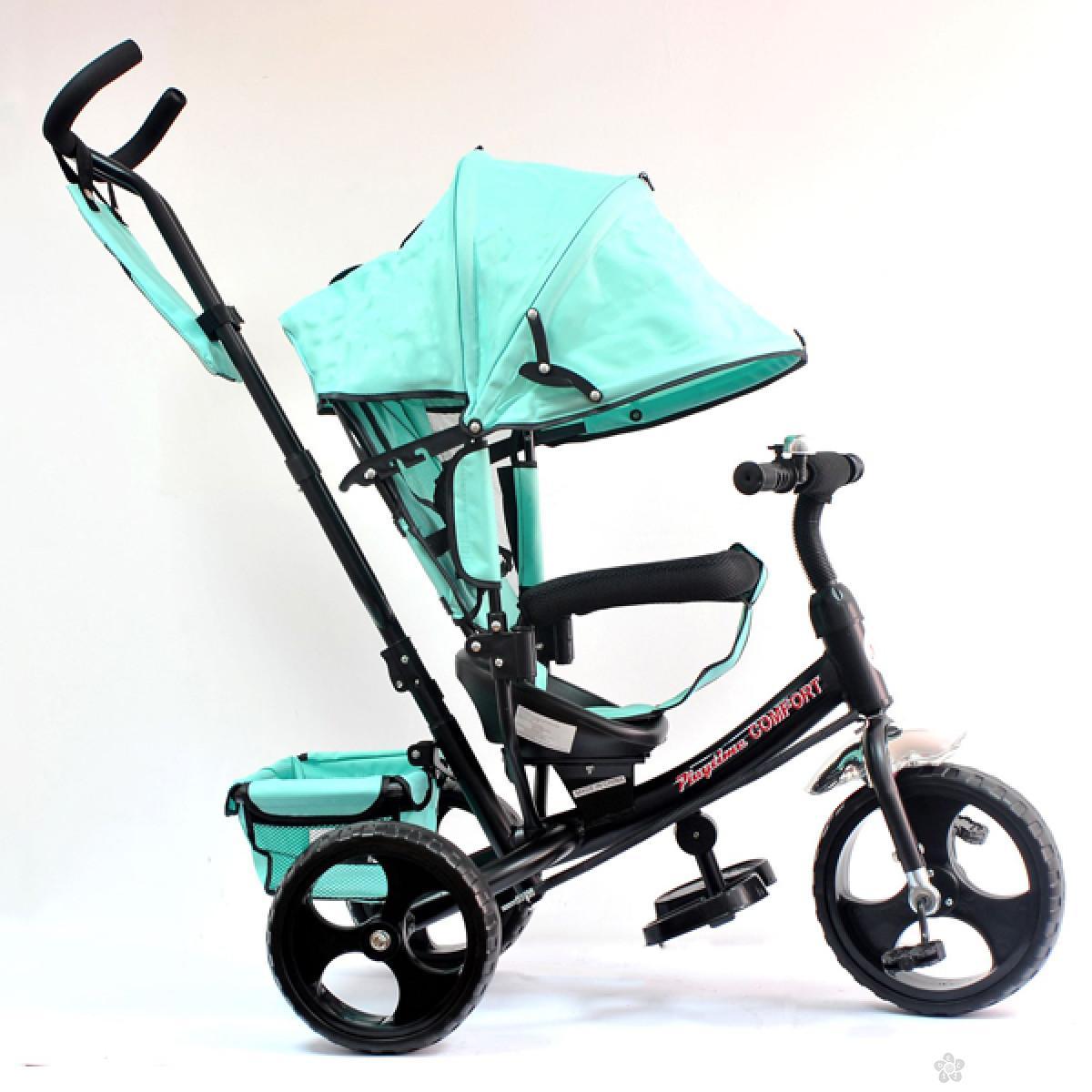 Tricikl Playtime,  model 417 COMFORT, MINT