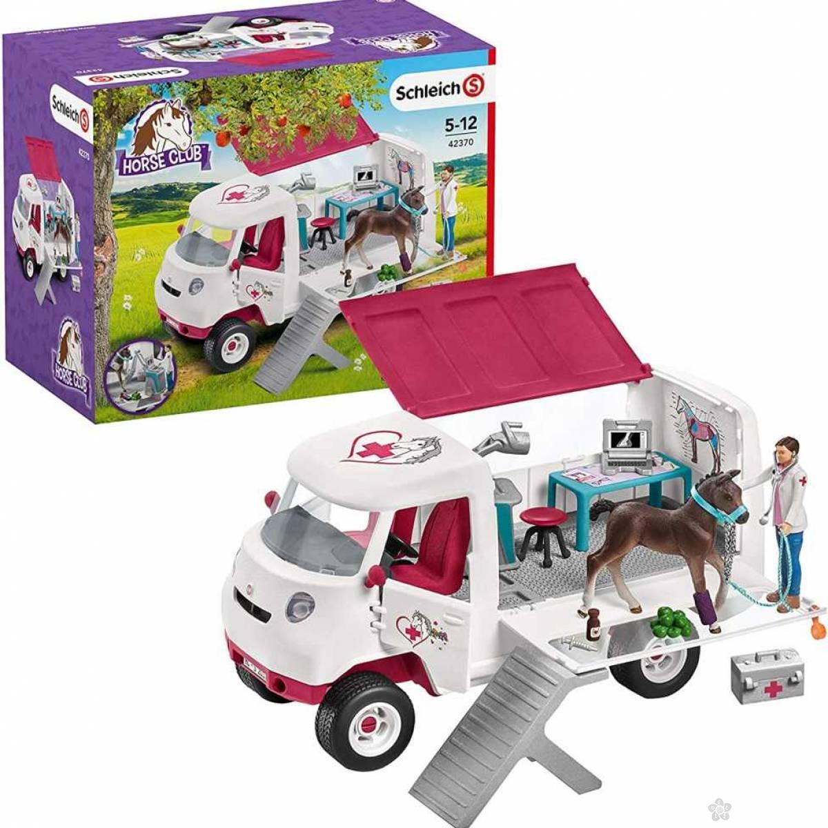 Mobilna veterinarska stanica sa ždrebetom 42370