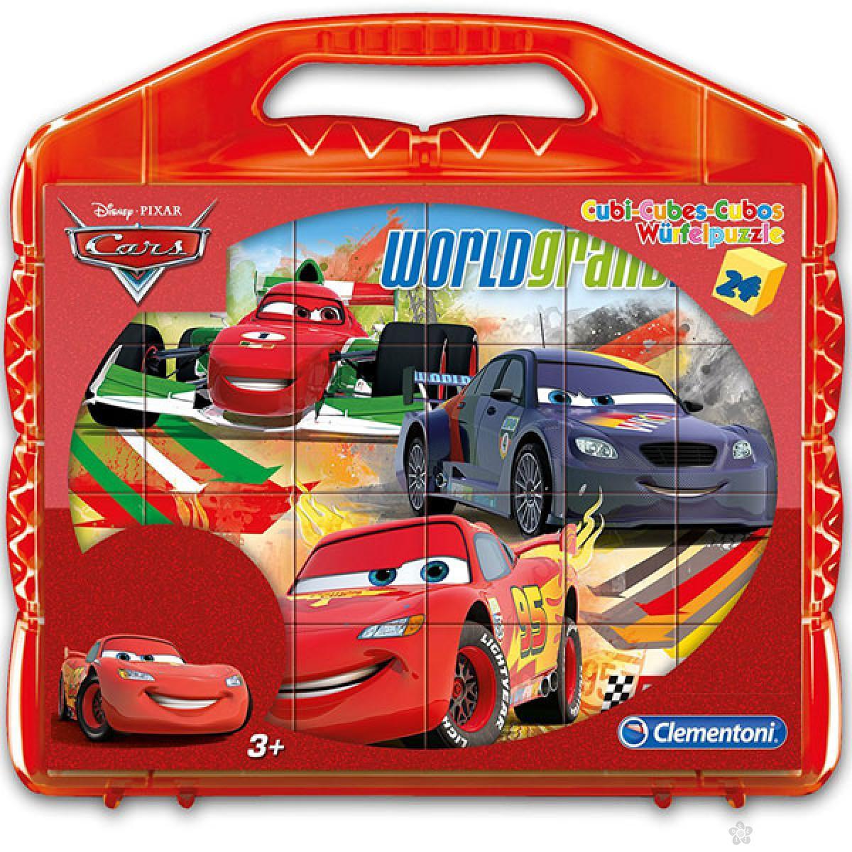 Kocke Cars 24 dela Clementoni, 42447