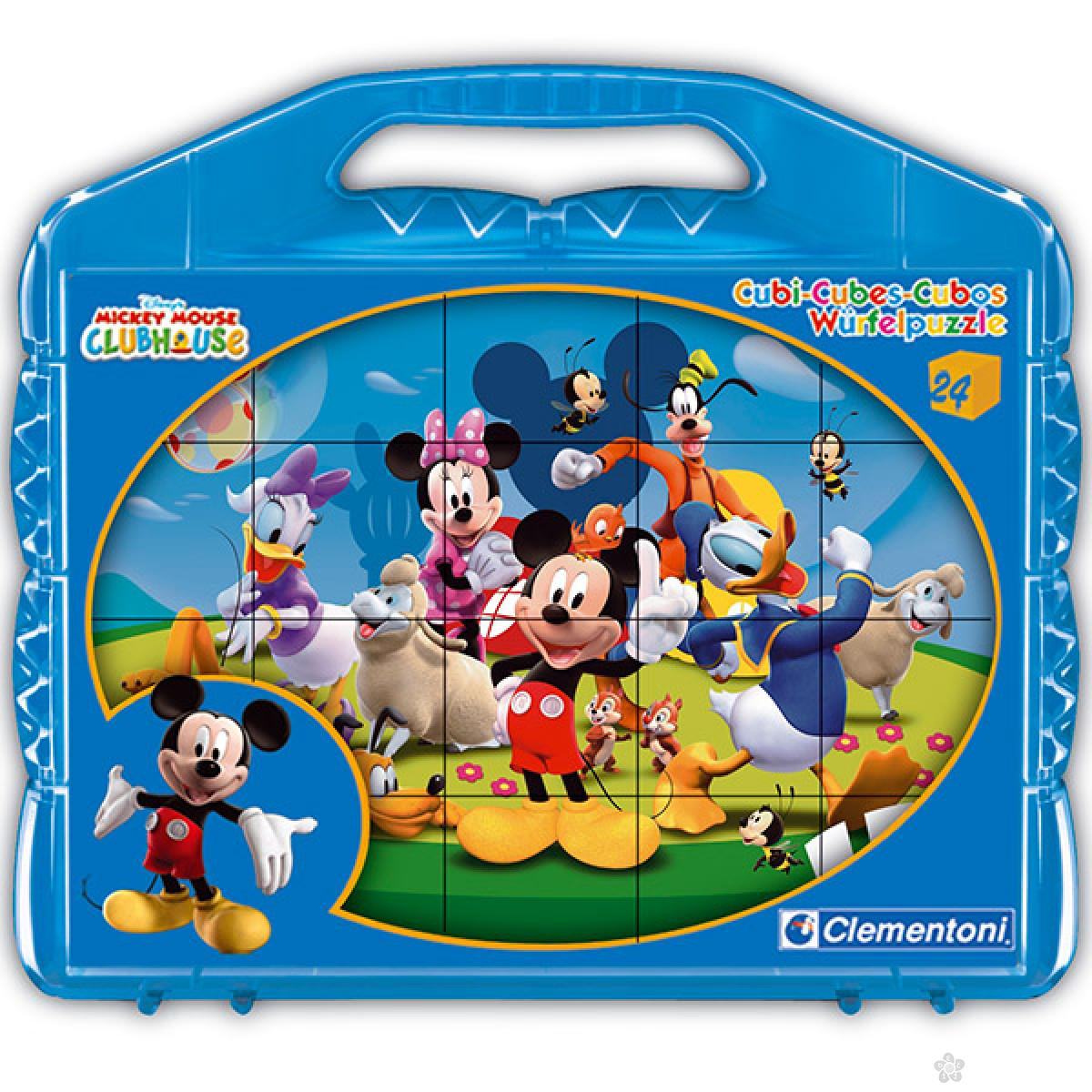 Kocke Mickey 24 dela Clementoni, 42495