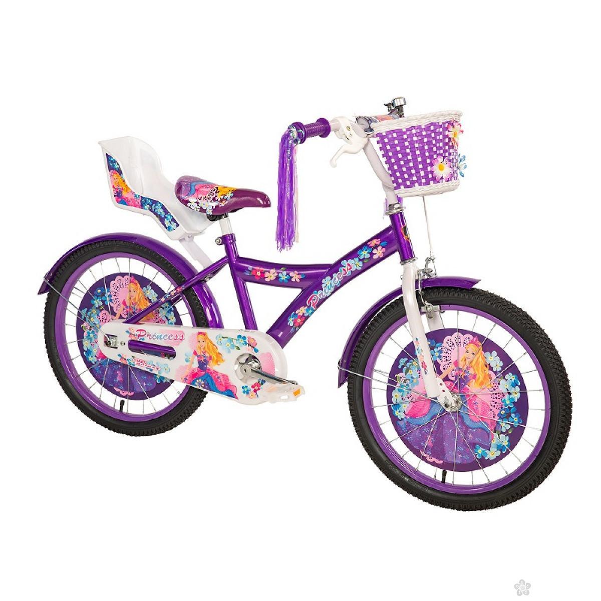 Dečiji Bicikl Princess 20 ljubičasta/bela, 460124