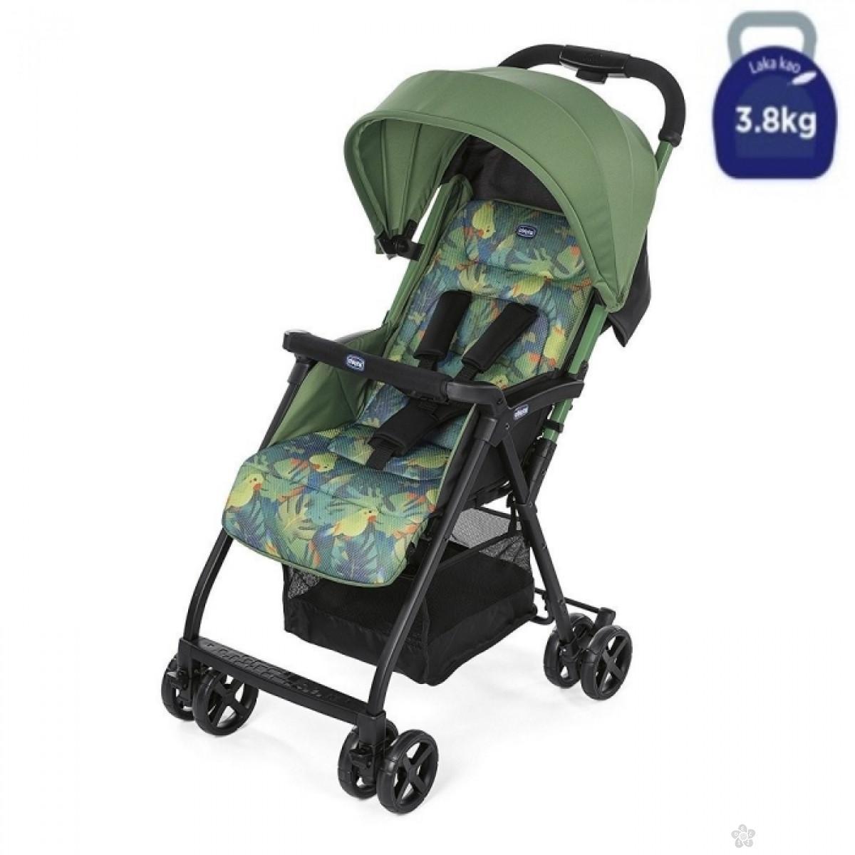 Chicco Kolica za bebe Ohlala Tropical Jungle, 5010481