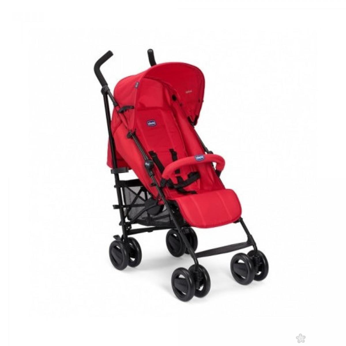 Kišobran kolica Chicco London up sa prečkom Red Passion-crvena, 5020687