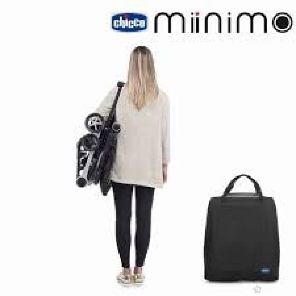 Chicco Kolica za bebe Miinimo black night, crna, 5020696